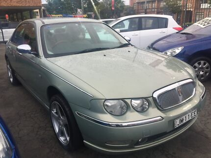 2002 Rover 75 connoisseur Sedan automatic only 80,910kms