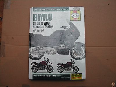 Haynes Manual for BMW r850 r1100 4 valve twins 93 to 97 NEW in foil wrapping