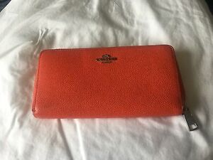 Coach Knightsbridge Leather Accordion Wallet St Peters Marrickville Area Preview