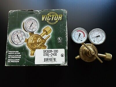 New Victor Acetylene Gas Regulator Sr360a-300 0781-2400 Al350s