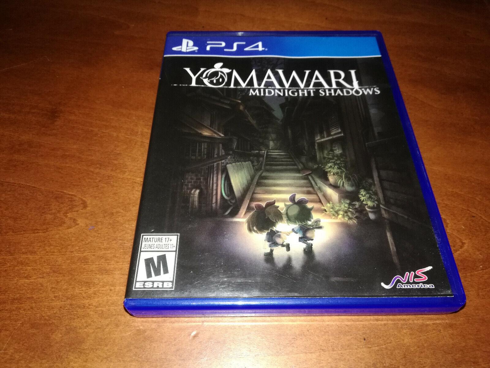 Yomawari: Midnight Shadows (Sony PlayStation 4, 2017) PS4