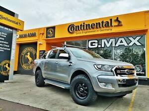 G.MAX 17x8.5 Aktiv Wheel and Falken AT3W Tyres for Ranger Mitcham Whitehorse Area Preview