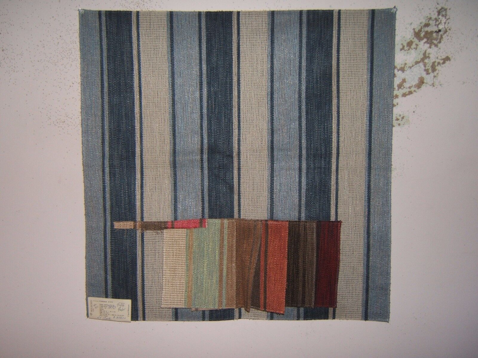 """Lee Jofa Mulberry Home """"Grand Central Stripe Tapestry""""  colo"""