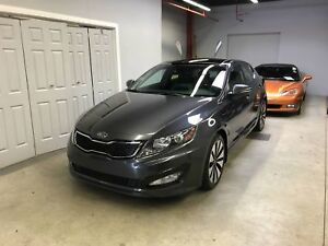 KIA Optima Berline 4 portes Turbo SX 2011, 74000KM, INTÉRIEUR EN