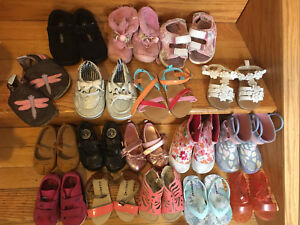 Girls shoes size 4 and 5 toddler