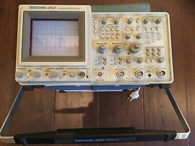 Tektronix Oscilloscope 2467 4 Channel 350mhz Free Shipping