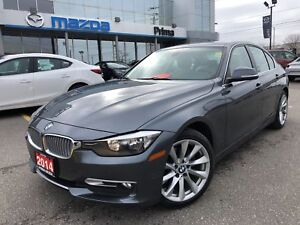 2014 BMW 320I xDrive LEATHER, SUNROOF, HEATED SEATS
