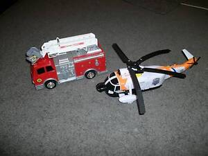 Kids Matchbox Tonka Toy Bundle Fire Engine Helicopter Interactive Latrobe Latrobe Area Preview