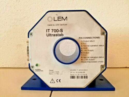 LEM Current Transducer IT 700-S Ultrastab