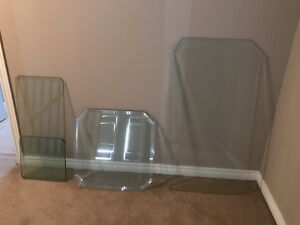 Protective glass for furniture