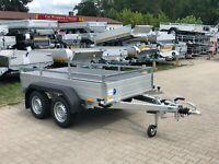 ⭐Anhänger Saris McAlu Pro DV2000 2000 kg 255x133x43 cm Reling NEU Brandenburg - Schöneiche bei Berlin Vorschau