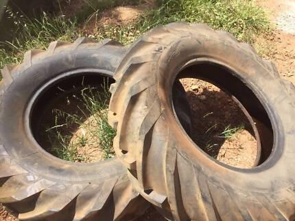 tyres backhoe tractor