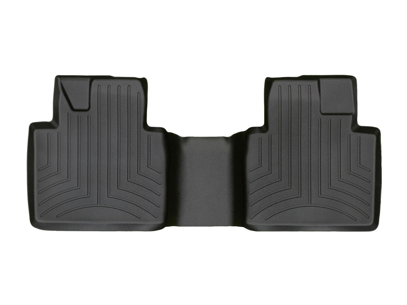 Black WeatherTech Custom Fit Rear FloorLiner for Toyota Avalon