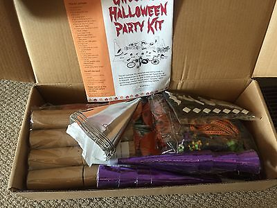 Halloween Bag Crafts - HALLOWEEN PARTY KIT, FOR 8 GUESTS, INC, CRAFTS,GOODY BAGS,ETC. NEW, HEARTHSONG