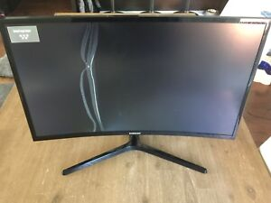 Samsung 27'' curved broken screen with stand and power supply