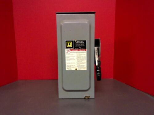 SQUARE D H321NRB HEAVY DUTY SAFTY SWITCH