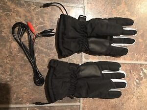 Brand new hard wired battery powered winter gloves 50$ obo