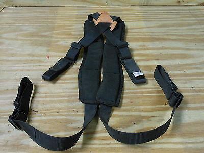 Klein 5717 Powerline Padded Suspenders Lineman