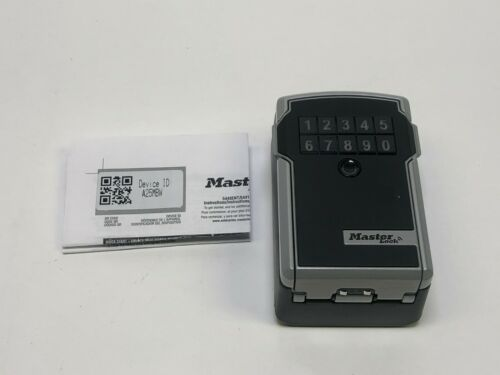 Master Lock 5441ENT Bluetooth Wall Mount Lock Box for Business Applications H2