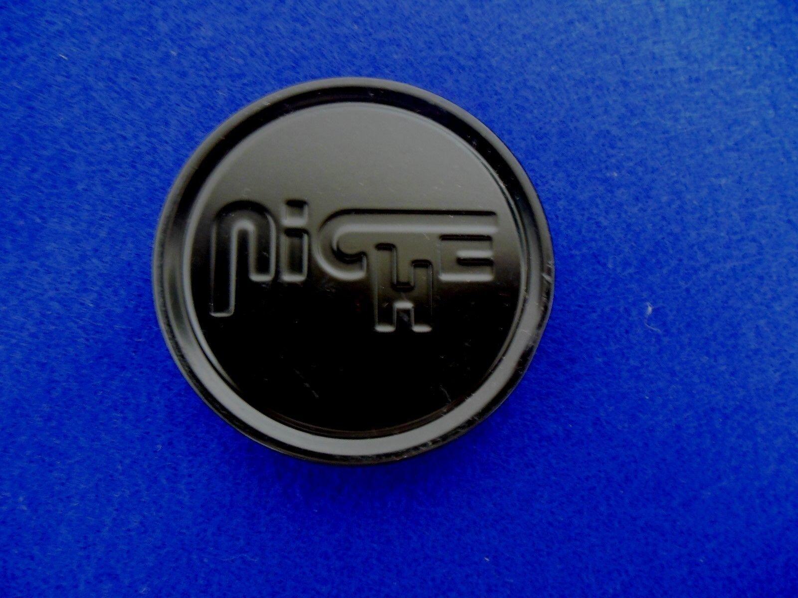 """NICHE WHEEL CAP  PN# 1003-22B S1105-06-02 BLACK  APX. 2 3/4""""  DIAMETER"""""""