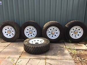 Toyota Hilux 2005 - 2015 wheels & tyres Stoneville Mundaring Area Preview