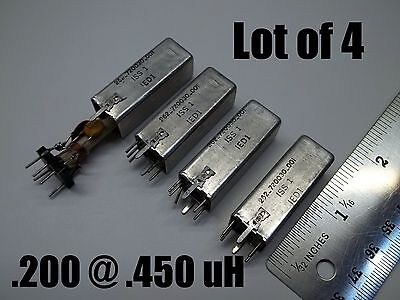 Variable Inductor Coil .250 .450 Uh Q180 Shielded Can Price For 4 030