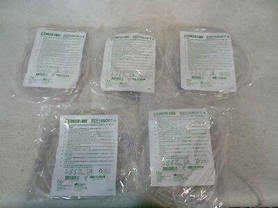 Salter Labs Oxygen Nasal Cannula Pak of 5(five) Style 16SOFT w/4ft Tubing.>NEW<