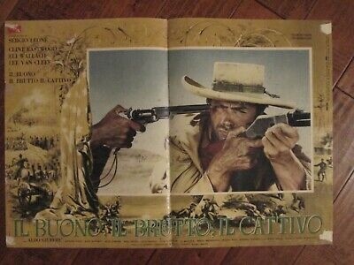 NEW The Good Italian the Bad and the Ugly Movie POSTER 11 x 17 Clint Eastwood