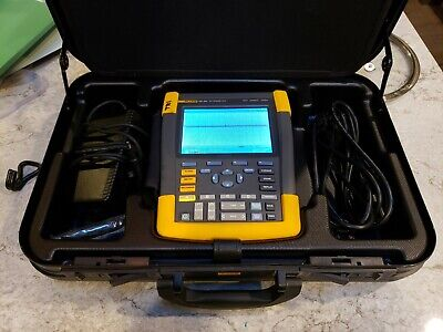 Fluke 190-504am500 Mhz 4-channel 5 Gss Color Scopemeter Portable...