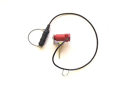 Geophone Rtc-10hz Horizontal 395ohm Land Case Kcl-f With L-bracket