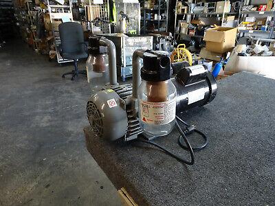 Gast Rotary Vane Vacuum Pump 2567-v108 Dayton 1.5hp 115230v 1725rpm