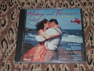 ALWAYS AND FOREVER Movies Greatest Love Songs Philips 1996 CD D112222   - Always And Forever Movie