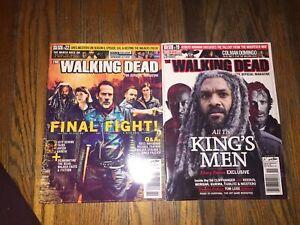 The walking dead magazines