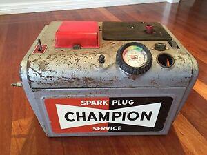 Vintage Champion Spark Plug Cleaner Orange Orange Area Preview