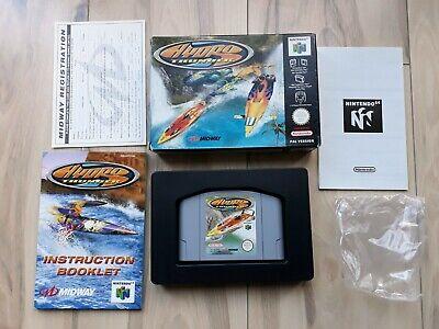 Hydro Thunder Nintendo 64 N64 PAL in Box CIB like new condition