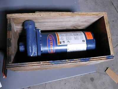 Berkeley Cast Iron Ac Straight Pump 115230v 1ph 1.5 Hp S39522 Used