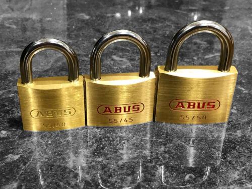 ABUS padlock Tri-Pack - great for locksport
