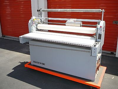 Seal Sealeze 54 Ems 54 Cold Roller Laminator Price Reduced