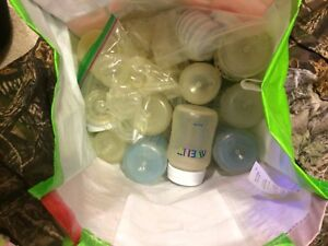 Misc bottles and nipples