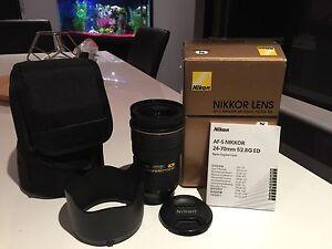 Nikon afs  24-70 f2.8 g ed Beeliar Cockburn Area Preview
