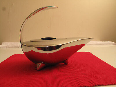VTG Bodum Stainless S/S Carsten Jorgensen Naoko Pattern Genie Tea Pot Infuser