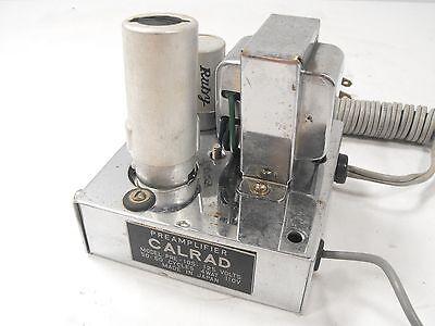 Calrad PRE-105 Phono Preamp w/ 12AX7 Tube = 4W Power + Beautiful Chrome Chassis