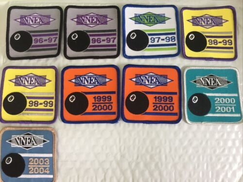VNEA Valley National 8 Ball Pool League Lot of Patches.