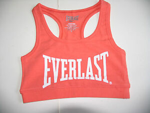 Brand NEW QUALITY Everlast Y back Crop Sports Bra Top