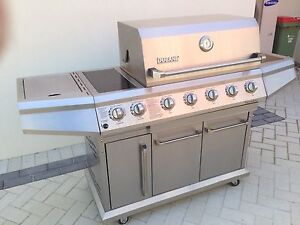 Duane (Weber) Deluxe Stainless BBQ - big... City Beach Cambridge Area Preview
