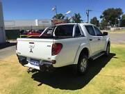 2013 Mitsubishi Triton Ute GL-R  ***4X4 Turbo Diesel Automatic*** St James Victoria Park Area Preview
