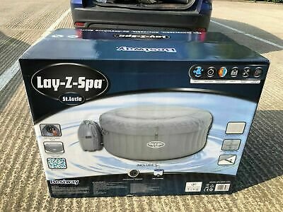 ✅Lay Z Spa Lazy Spa St Lucia Brand New Sealed Hot Tub FREE NEXT DAY DELIVERY!