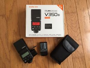 Godox V350s Li-ion Rechargeable Battery Flash for Sony
