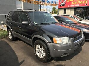 2004 Ford Escape 4X4 XLT 159,000