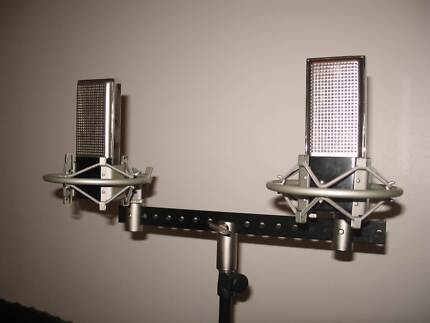 Matched Pair of NUDE Rectangular Ribbon Microphones Forestville Unley Area Preview